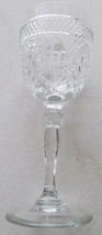 Cris D'Arques Durand Luminarc Vintage Antiue Clear Wine Glass with Cryst... - $19.99