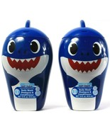 2 Ct Pinkfong Baby Shark Hypoallergenic 3in1 Body Wash Shampoo Condition... - $21.99