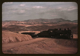 Train to the Copper Mines, Ducktown, Tenn 1939 Color New Photo Reproduction - $27.95+