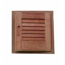 60723 Louvered Door & Frame Large Lh 15In.X 15In. - $106.99