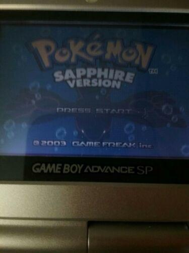 Pokemon Sapphire Authentic Game Boy Advance No Label image 5