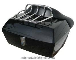 LED RK Trunk + wrap around backrest w/rack + bag for HONDA Yamaha - $159.00