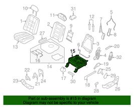 Genuine OEM Ford Power Seat Frame 9A8Z-9661711-A  CA8Z-9661711-A 09-12 Flex - $418.72
