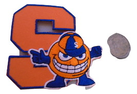 SYRACUSE 3 INCH  EMBROIDERED PATCH OLD STOCK FREE SHIPPING - $5.99