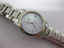 Caravelle by Bulova Mens Stainless Steel Watch 43MO9 Fresh Battery - $33.40