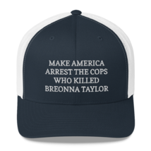Make America Arrest The Cops Hat / Make America Arrest The Cops / Trucker Cap image 8