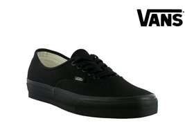 Vans Authentic Black/Black VN000EE3BKA Mens 7.5, Womens 9 - $41.33