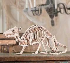 """Large 14"""" Wide Skeleton Rat Indoor Outdoor Haunted Halloween Decor Prop ... - $29.20"""
