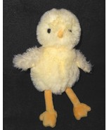 PBK Pottery Barn Kids Yellow Chick Duck Plush Stuffed Animal Fluffy Easter - $19.78