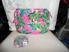 Vera Bradley set of  large cosmetic & Pocket Mirror in Tropical Paradise - $39.00