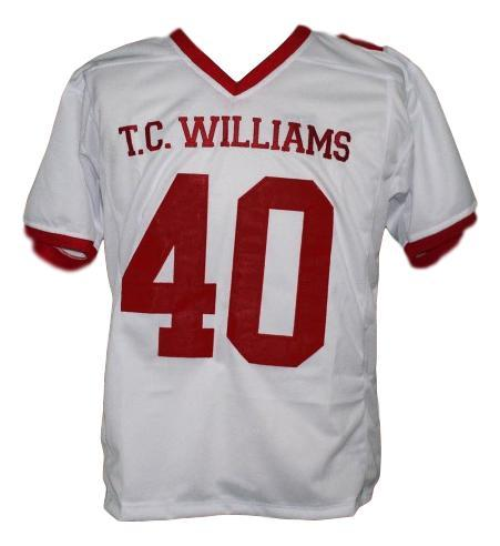 Petey jones  40 remember the titans movie football jersey white  1