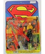 RARE Superman Man of Steel CONDUIT w/ RED Spinning Kryptonite Attack Cab... - $34.65