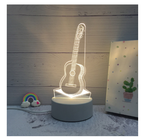 3D LED Lamp Creative Night Lights Novelty Night Lamp Table Lamp For Home 10 - $12.50