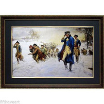 Washington At Valley Forge Print Framed Art - $143.55