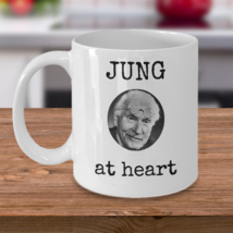 Psychology coffee mug - Jung at heart - Psychologist Carl Jung funny gag gift - $20.90