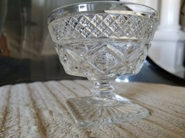 Vintage Cape Cod Imperial Glass Low Sherbet with Wafer Stem  - set of 11 - $13.68