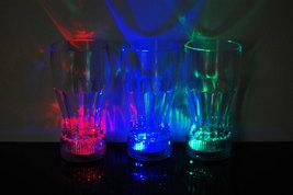 Set of 4 LED Light Up 12oz Cola Glasses - $18.95