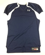 New Under Armour Performance Football Jersey Men's XL No Numbers Navy White - $23.21