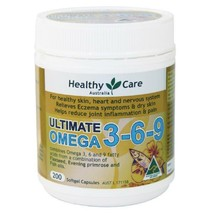 Healthy Care Ultimate Omega 3-6-9 200 Capsules - $192.59