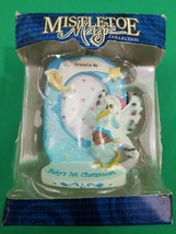 Mistletoe Magic Collection - Baby's 1st Christmas Ornament - Trevco - Bo... - $8.91