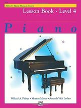 Alfred's Basic Piano Library Lesson Book, Bk 4 [Paperback] Palmer, Willard A.; M