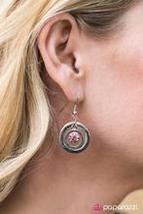 Dinner On The Moon - PInk Earring - $5.00