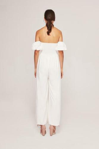Anthropologie Off-The-Shoulder Sweetheart Lena Jumpsuit by Steele $199 - NWT