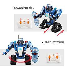 Mould King 2 in 1 Building Block Robot Policemen Toy with Remote Control Robot E image 3
