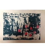 SIGNED GMSH Artist Collective Print RARE From the Inside Street Art Bank... - $650.00