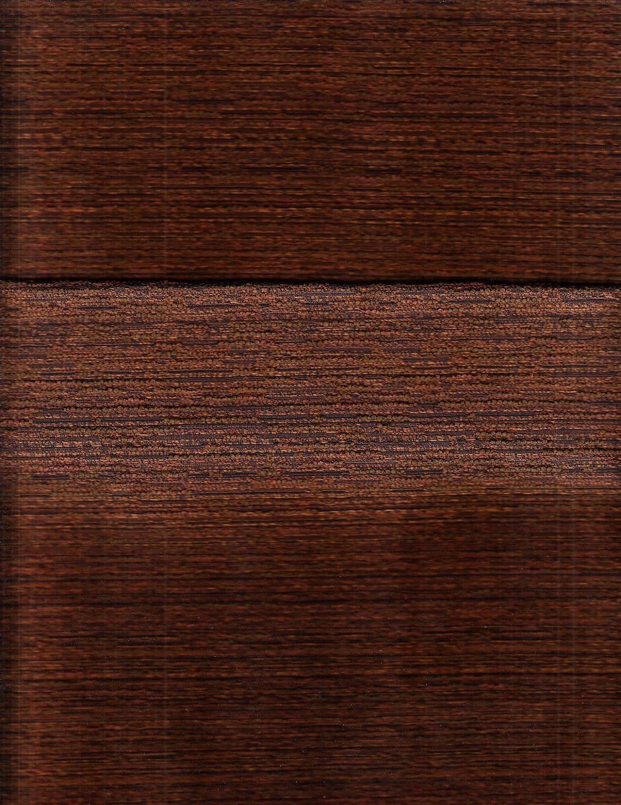 Mid Century Modern Upholstery Fabric Ad Men Tweed Chestnut Brown 14 yds DP2