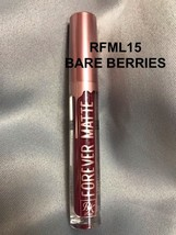 Rk By Ruby Kisses Forever Matte Liquid Lipstick 'RFML15 Bare Berries' - $1.97