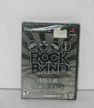 Rock Band: Metal Track Pack (Sony PlayStation 2, 2009) NEW - $6.91