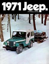 1971 Jeep CJ-5 - Promotional Advertising Poster - $9.99+