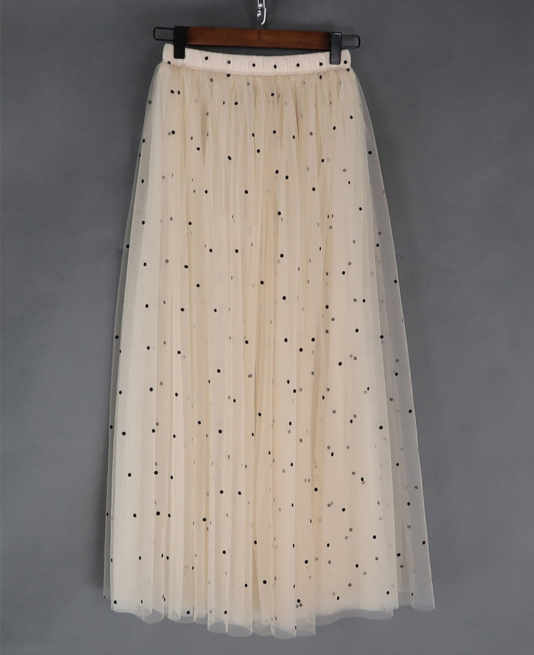 Cream tulle skirt 9