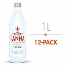 Acqua Panna Natural Spring Water, 33.8 Oz Plastic Bottles (Pack Of 12) - $39.11