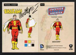 SIGNED Jose Luis Garcia Lopez JLA Model Sheet Insert Chase Art Card ~ Sh... - $19.79
