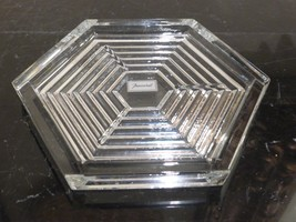 Baccarat Crystal Orsay Hexagonal Coaster - $105.00