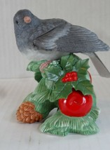 2012 Annual Christmas Lenox Dark Eyed Junco Bird - Mint Condition - $22.76