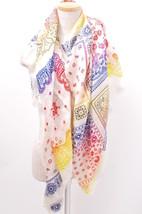 Louis Vuitton LV Fragment Stole Scarf Shawl Etole Paisley POP UP Store L/d Rare - $1,240.67