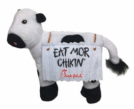 """Chick-Fil-A COW Plush 6"""" EAT MORE CHIKIN 2017 Chicken Cow - $14.80"""