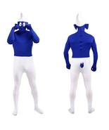 The Smurfs Lycra Spandex Unisex Full Body Zentai Suit Cosplay Costume - $65.65