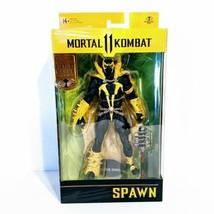 McFarlane Toys Mortal Kombat 11 Spawn Gold Label Collection Walmart Excl... - $33.85