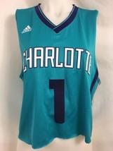 Adidas 2015-16 NBA Jersey Charlotte Hornets Stephenson Jersey, Cropped, Size M - $18.99