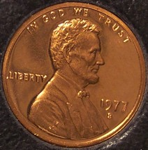 1977-S DCAM Proof Lincoln Memorial Penny #0181 - $1.69