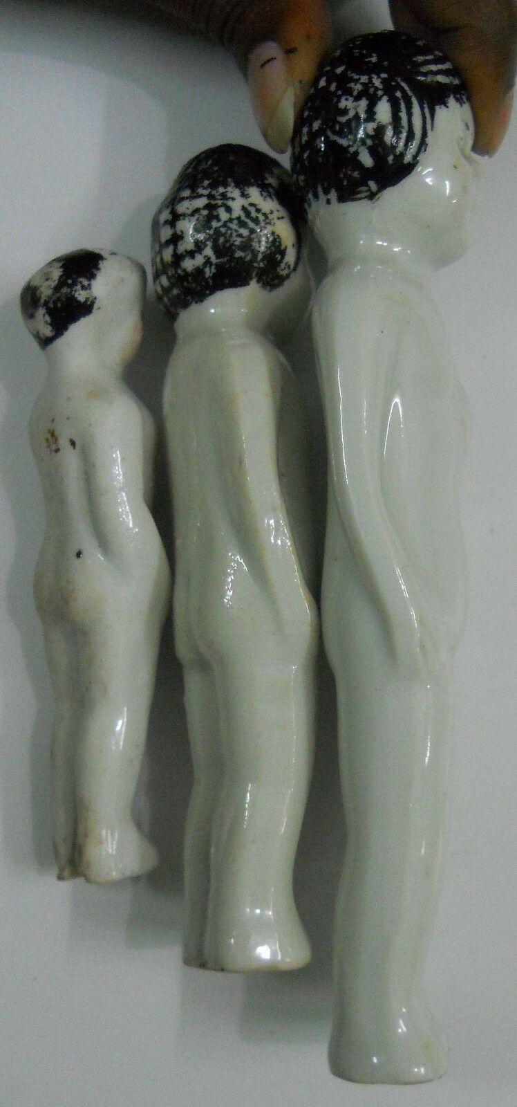 Vintage Porcelain Figurine 3 Girls over 40 years old #Po-7 image 9