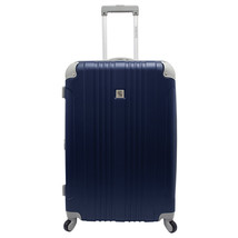 "Beverly Hill Country Club Malibu Newport 28"" Navy Light Luggage Spinner ... - $84.14"