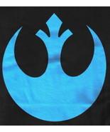 Star Wars Rebellious, Blue Rebel Logo T-Shirt NEW UNWORN - $16.21