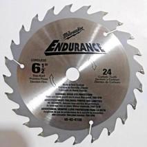 "Milwaukee 48-40-4108 6-1/2"" x 24 Teeth Cordless Thin Kerf Saw Blade (Bulk) - $4.95"
