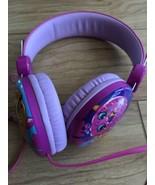 Shopkins Pink ADJUSTABLE Headphones Moose Shopkins Headphones Kooky Cookie - $12.86