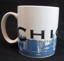 Starbucks Skyline Series Chicago Cup Mug 2002 Barista Windy City 18 Oz - $14.80